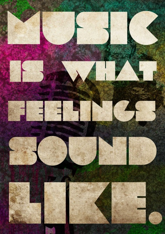 Music…What Feelings Sound Like