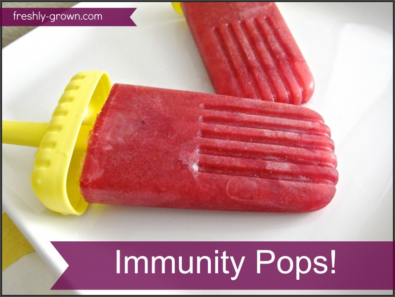 Immunity Pops! | Freshly Grown